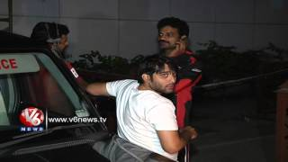 Celebrities Rush To Hospital - Uday Kiran's Dead Body At Apollo