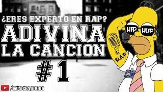 ¿Que tanto sabes de Rap? | Adivina la canción #1 | MUSICRAPHOOD