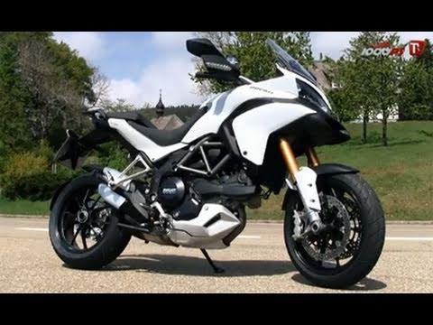 Vergleich Strassenmotorräder - Ducati Multistrada 1200S - 1000PS Tv