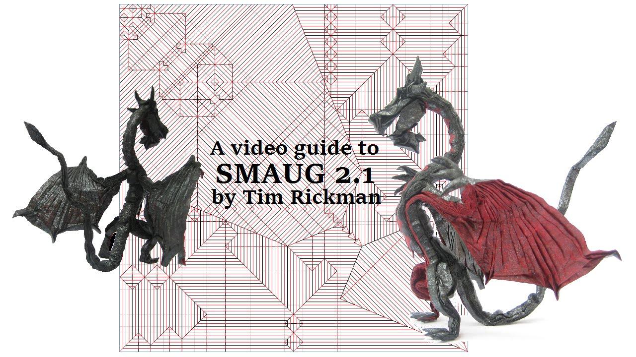 Smaug 2.1 Tutorial by Tim Rickman Origami - YouTube