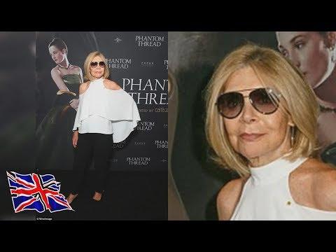 The blonde turned heads in a cut-out blouse f Carla Zampatti 75 cuts a stylish figure at premiere