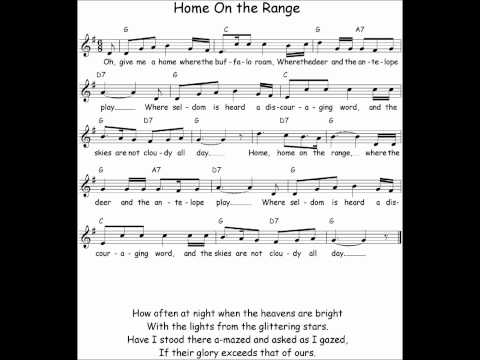 Home on the Range Sheet Music