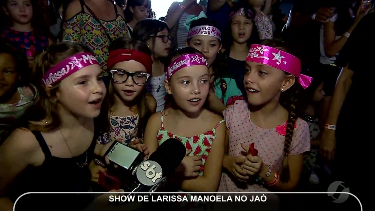 4b87d7a1bb5ee JMD (12 12 16) - Show da Larissa Manoela em Goiânia - YouTube