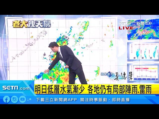 雨勢周四轉弱!颱風來襲這天是關鍵|三立準氣象|20190820|三立新聞台