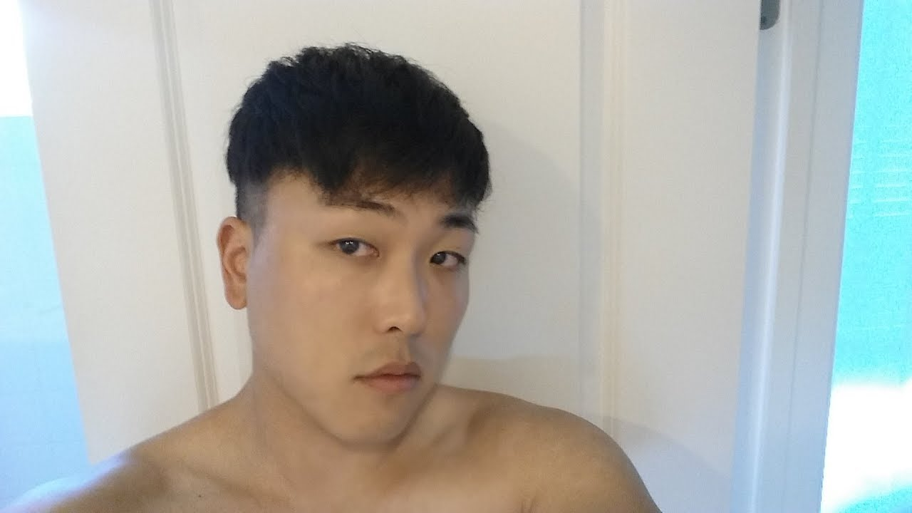 K Pop Two Block Hair Cut 9 Months Post Hair Transplant Youtube
