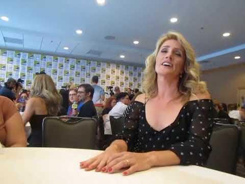 Kirsten Nelson (Karen Vick) Psych movie Interview, SDCC 2017