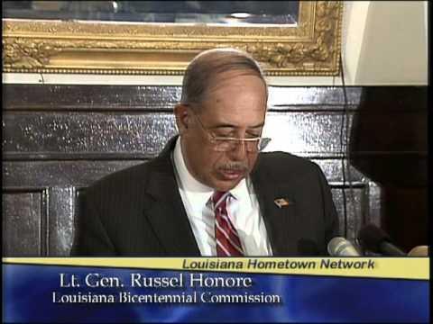 Lt. Gen. Russel Honore - Louisiana Bicentennial