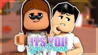 Ali Gate - It's You LYRIC PRANK IN ROBLOX! Ft. JustBerried