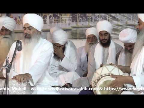 4-16-18 Diwan Sant Baljinder Singh Ji Rara Sahib Wale At Gurdwara Sant Mandal Angitha Sahib, Mohali