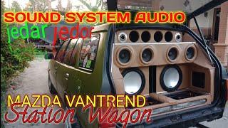Lihat-lihat Mazda Vantrend Station Wagon...Audionya Bikin Geleng-geleng
