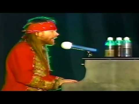 Axl Rose – It's Alright (Paris 1992)