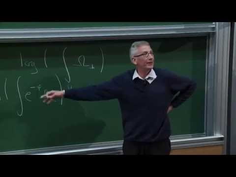 Simon Donaldson - The Ding functional, Berndtsson convexity and moment maps