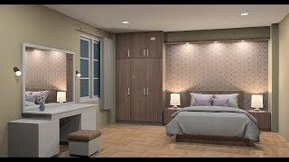 Design Interior Bedroom Using Sketchup