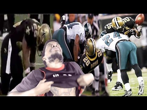 DER TAG REGGIE BUSH KARRIERE ENDE! BESTES NFL SCHLAGEN JEDE JAHRESZEIT (2000-2017) REAKTION!- NBA