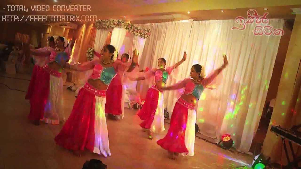 Srilankan Best Wedding Dance Bollywood Hindi Mix Teri Ore Sajan Aaja Nachle