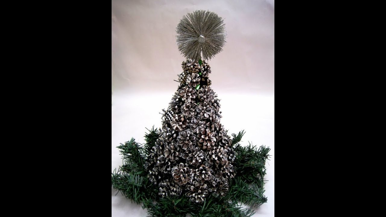 Pine Cone Christmas Tree Featuring Miriam Joy YouTube - Pine Cone Christmas Trees