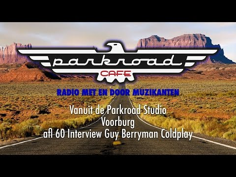 Parkroad Cafe 2016.06.24 | Guy Berryman Coldplay (interview)