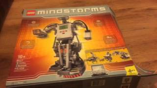 mindstorms NXT 1.1 Unboxing First Build And Review
