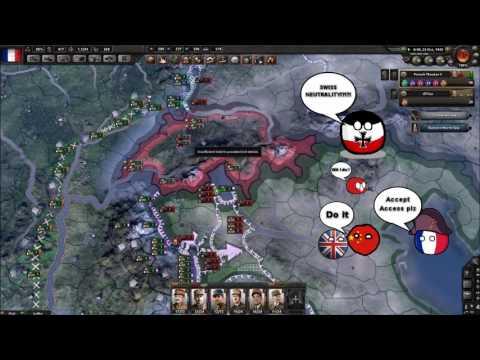 Hoi4 MP in a nutshell episode 9 (Swiss neutrality)