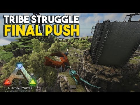FINAL PUSH - PART 2!!! RAGNAROK - ALPHA TRIBE STRUGGLE S2E7   ARK: Survival Evolved (HOD's SERVER)