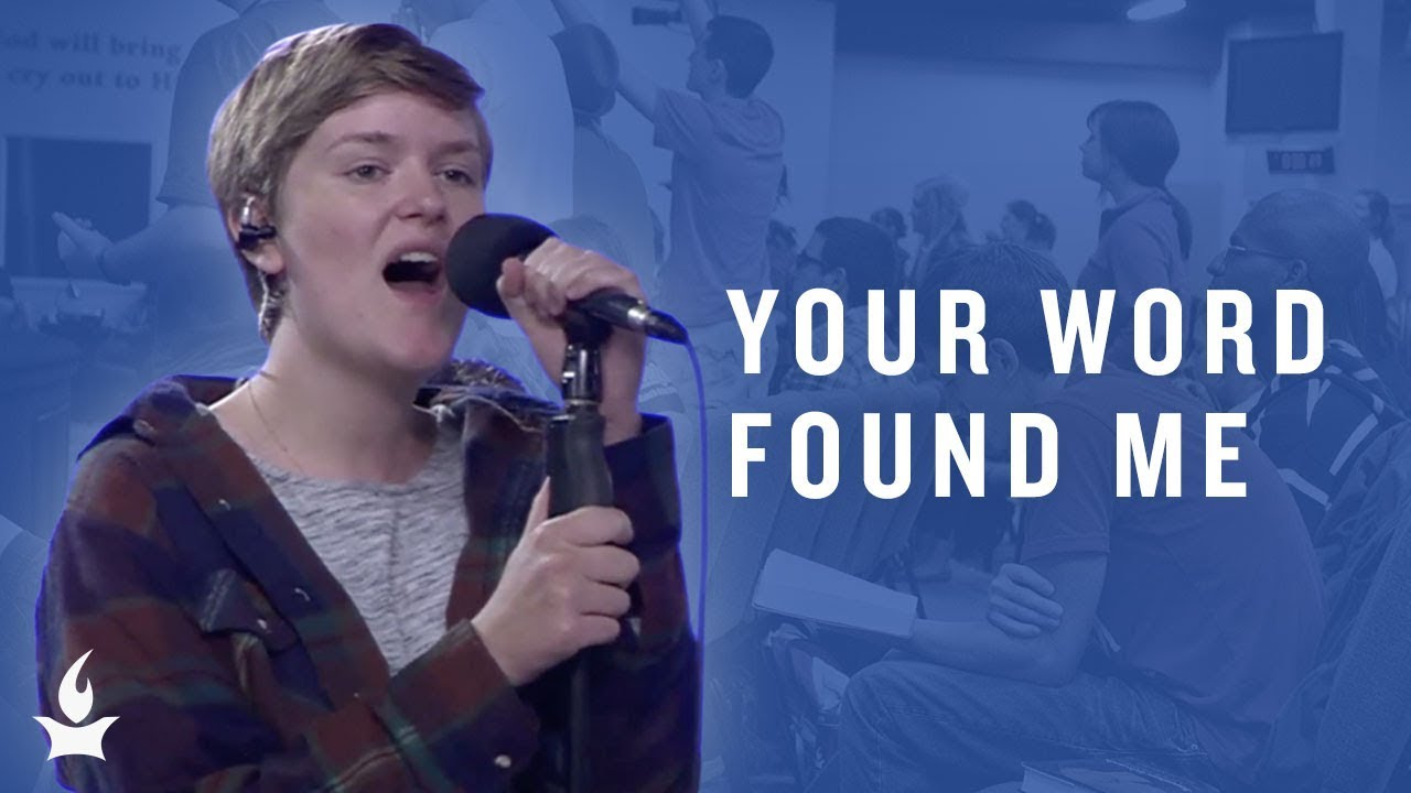 Your Word Found Me Spontaneous Prayer Room Live Moment Youtube