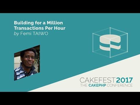 Building for a Million Transactions Per Hour - Femi Taiwo @dftaiwo