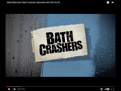 Matt Muenster Bath Crashers Episode with DECOLAV