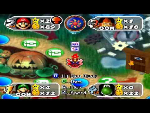 Mario Party 2 Board Game - Horror Land