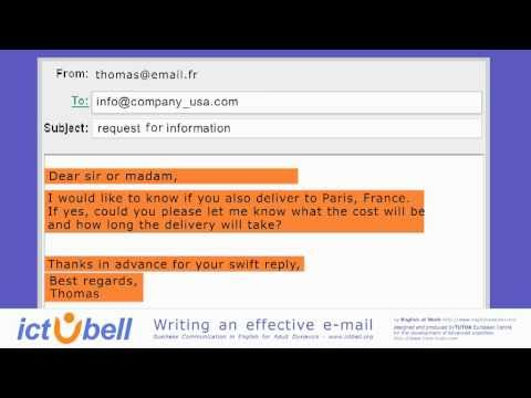 WRITING EFFECTIVE E-MAILS. Common errors.