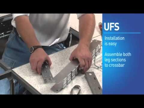 Cablofil: Underfloor Cable Management System