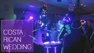 COSTA RICAN WEDDING + CRAZY PARTY! | Weekend Vlog, February 27