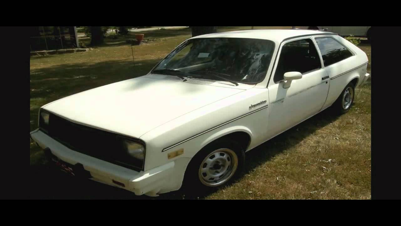 1986 chevy chevette for sale youtube 1986 chevy chevette for sale