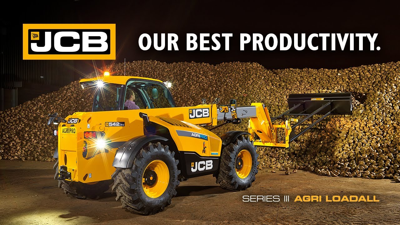 Our Best Productivity - JCB Series 3 AGRI Loadall Telescopic ...