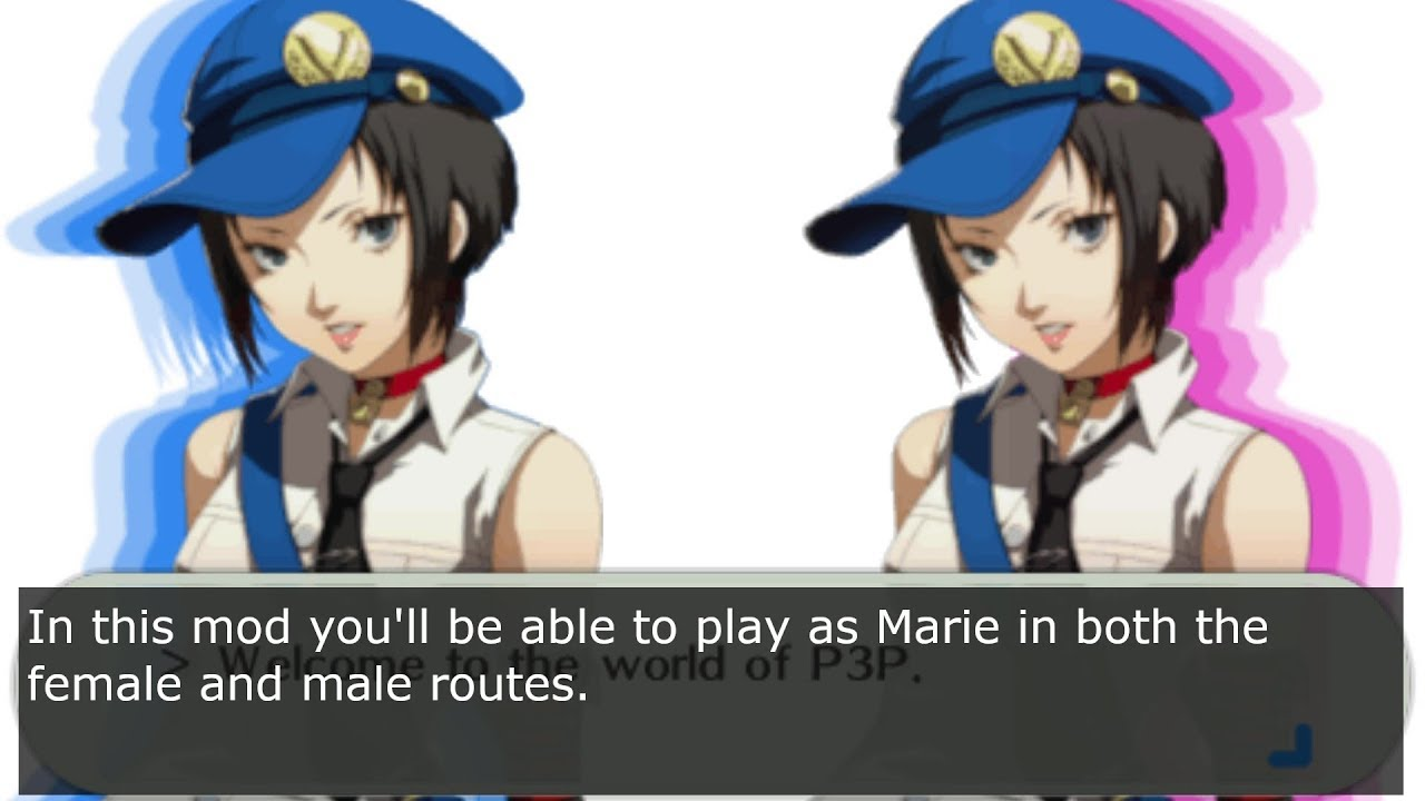 Persona 3 Portable Mod Persona 3 Marie Trailer