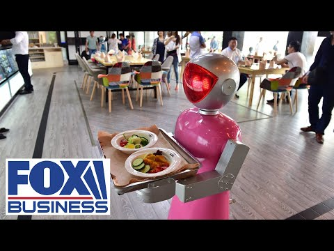Restaurant CEO: Servers making more, working less with robot waiters