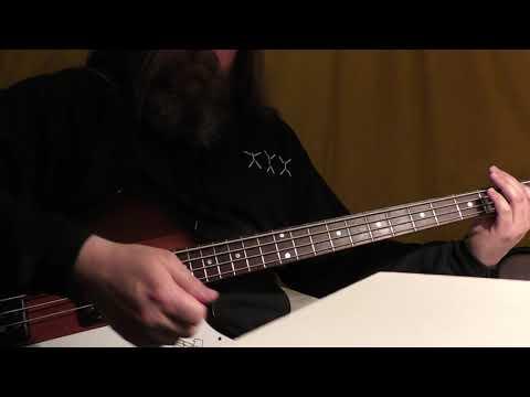 """""""Becoming"""" - PANTERA Bass Cover"""