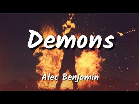 (1hour Loop With Lyrics ) Alec Benjamin - Demons