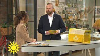"""Trissvinnaren hade tänkt dela med familjen: """"Jag behåller allt själv""""  - Nyhetsmorgon (TV4)"""