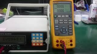 Solartron 7150 Multimeter Repair and Calibration by Dynamics Circuit (S) Pte. Ltd.