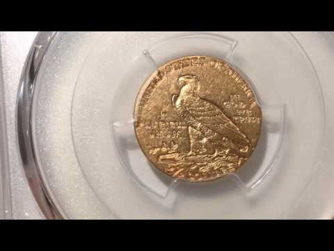 PCGS Unboxing Of Quarter Eagle Gold Coins With A Counterfeit.