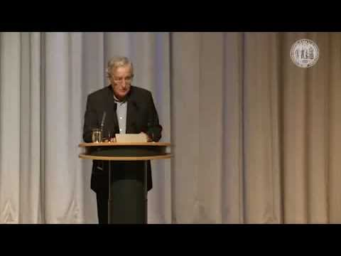 Noam Chomsky - The Evolving Global Order Prospects and Opportunities Part 1