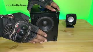 F amp D F203G 2 1 Home Theatre UnBoxing Sound Test amp Review by AKS