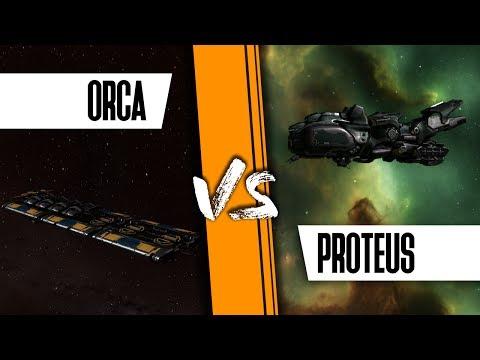 Proteus Vs Orca, What An Amazing Explosion!