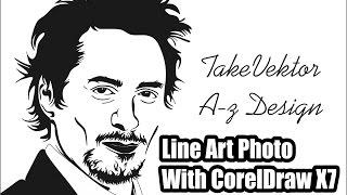 Video Line Art Photo With CorelDraw X7 - Cara Membuat Line Art By Takevektor download MP3, 3GP, MP4, WEBM, AVI, FLV Oktober 2018