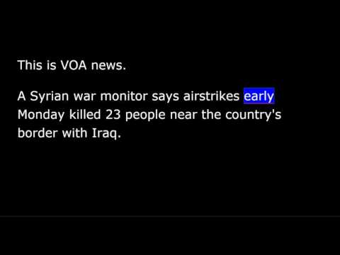 VOA news for Tuesday, May 16th, 2017