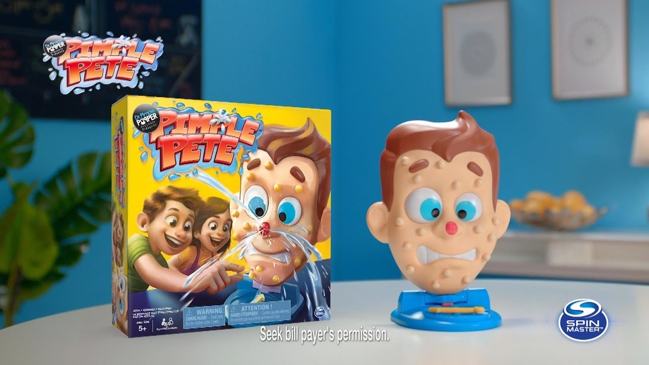 This Pimple Pete Game Lets You Pop Pimples For Fun