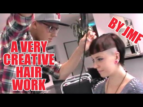 A VERY CREATIVE HAIRWORK  HAIRCUT EXTREME BY JOERG MENGEL