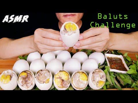ASMR Baluts Mukbang Challenge, Eat All Balut Eggs Tray and The End, Hột Vịt Lộn | COC ASMR