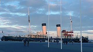 Экскурсия с Алиной по ледоколу Suur Toll. Эстония, Таллин