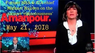 Download Video Michael Hayden with Christiane Amanpour on May 21, 2018 MP3 3GP MP4